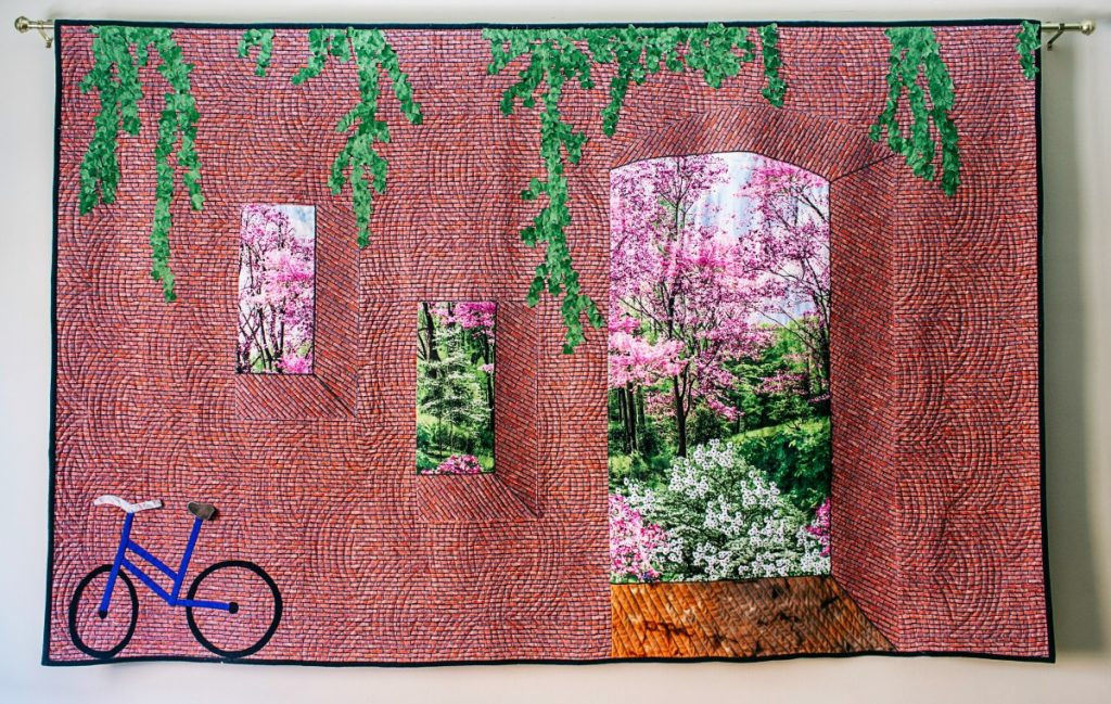 my beyond the brick wall quilt