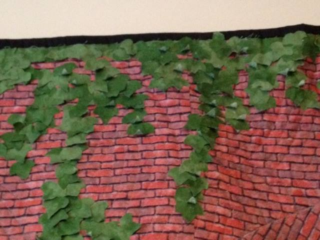 Beyond the Brick Wall, ivy leaves