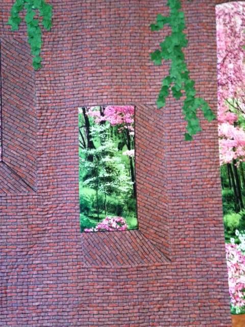 Beyond the Brick Wall window
