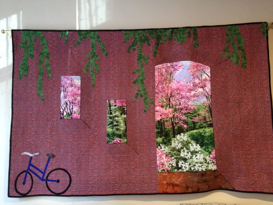 How Did I Quilt That: Beyond the Brick Wall
