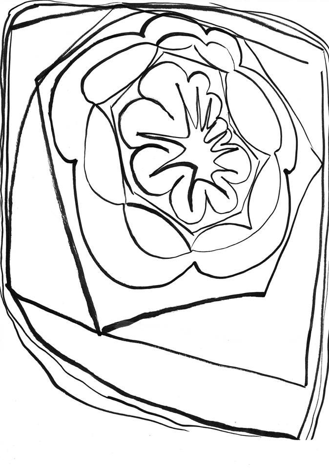 Original doodle for Batik Explosion