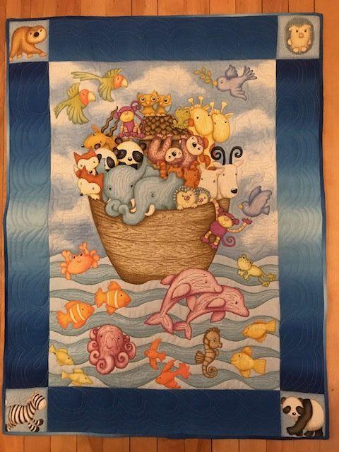 Noah's ark panel