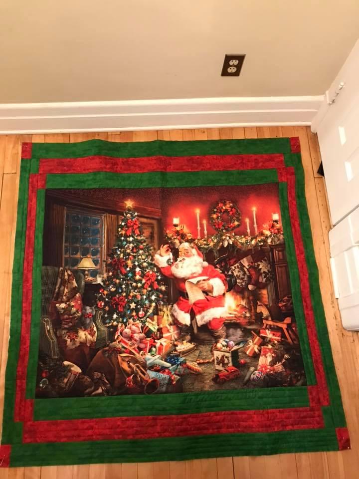 I had several Santa Panels