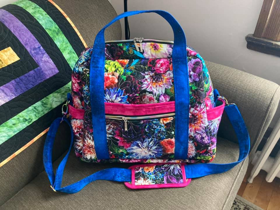 Quilting Isn't Just for Quilts: Travel Bag