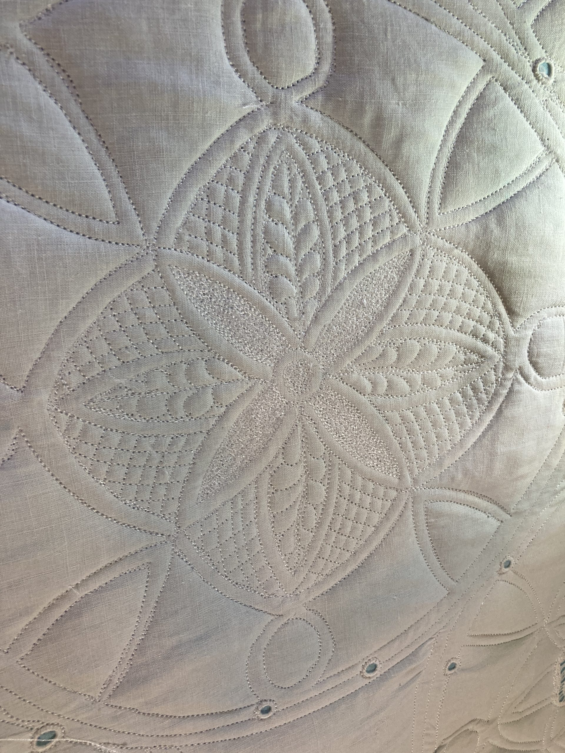 Tablecloth Project, Part 3: Quilting