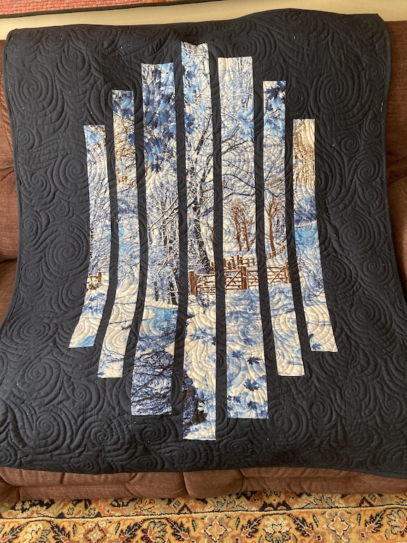 Staggered Windows: A Quilt  Panel Project